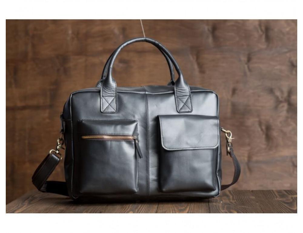 Чоловіча шкіряна сумка TIDING BAG GB331A