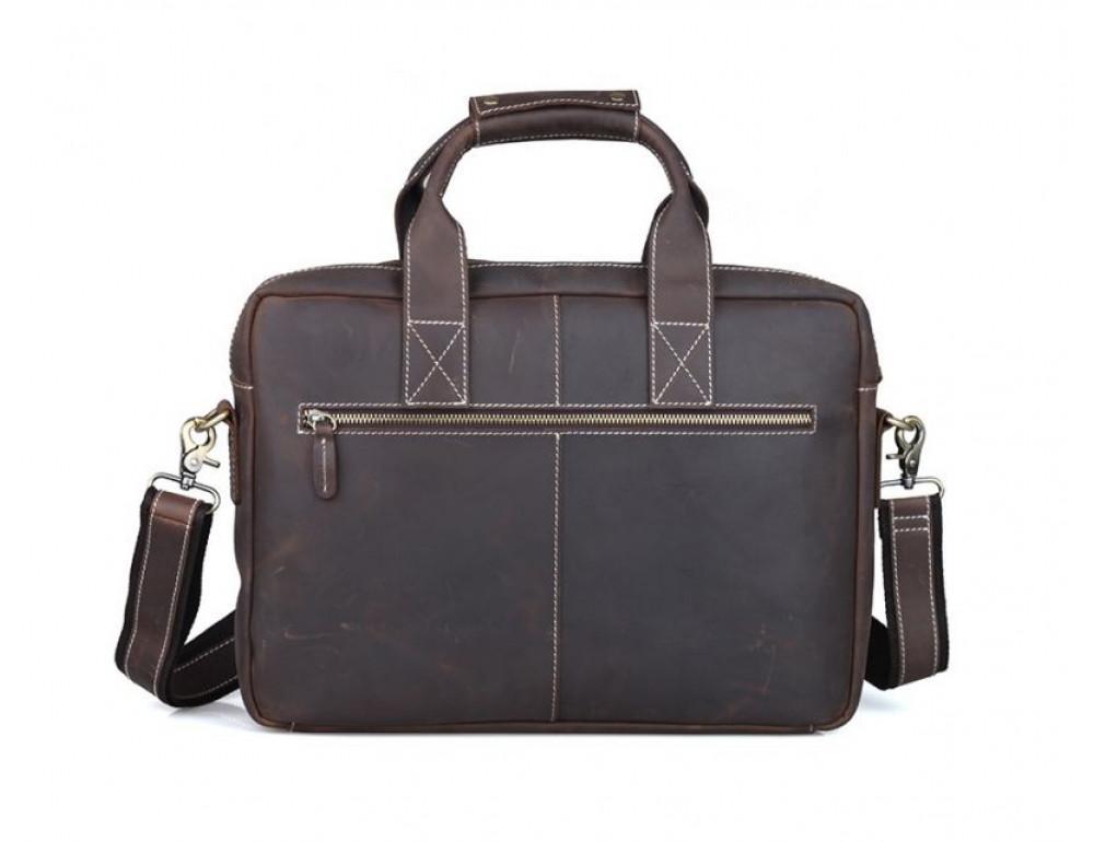Мужская кожаная сумка TIDING BAG T1123 - Фото № 2