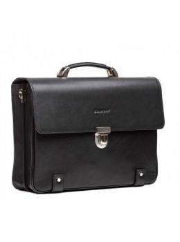 Вместительный кожаный портфель Blamont Bn044A
