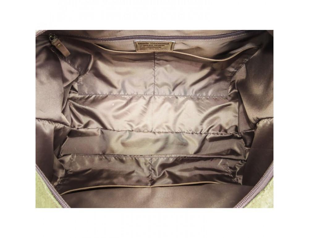 Тканевая дорожная сумка Black Diamond Bdt32Ccrh-hak хаки - Фото № 9