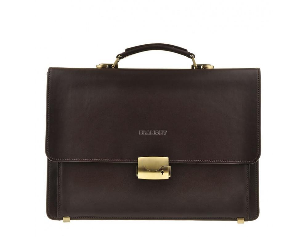Мужской кожаный портфель Blamont Bn061C