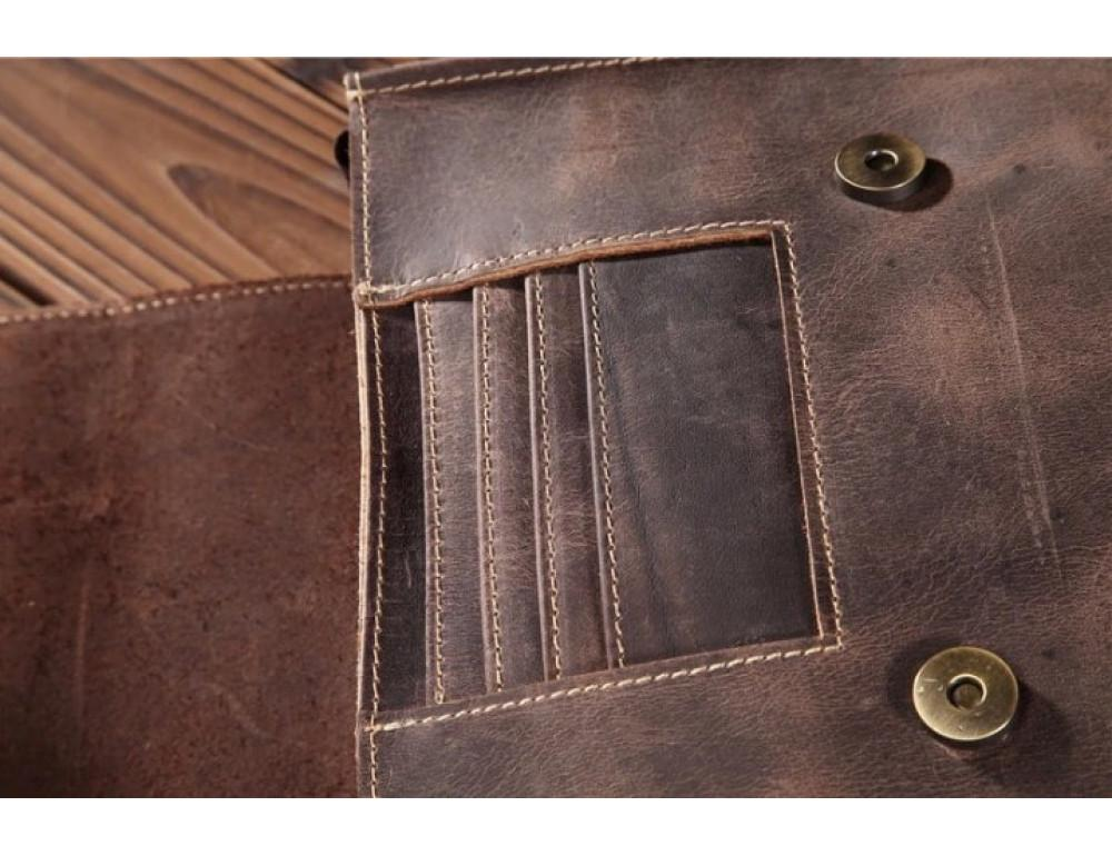 Мужская кожаная сумка на плечо Bexhill bx9382 - Фото № 3