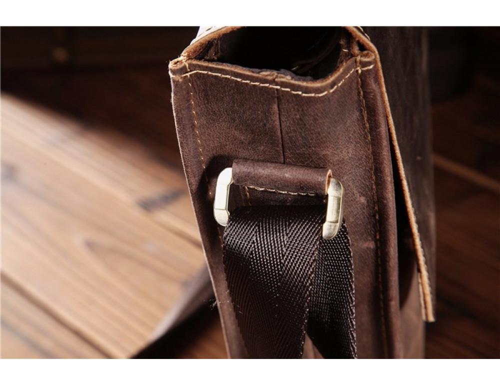 Мужская кожаная сумка на плечо Bexhill bx9382 - Фото № 5