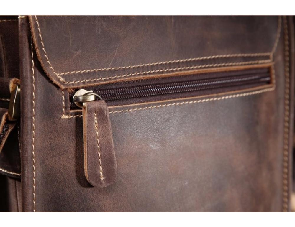 Мужская кожаная сумка на плечо Bexhill bx9382 - Фото № 6