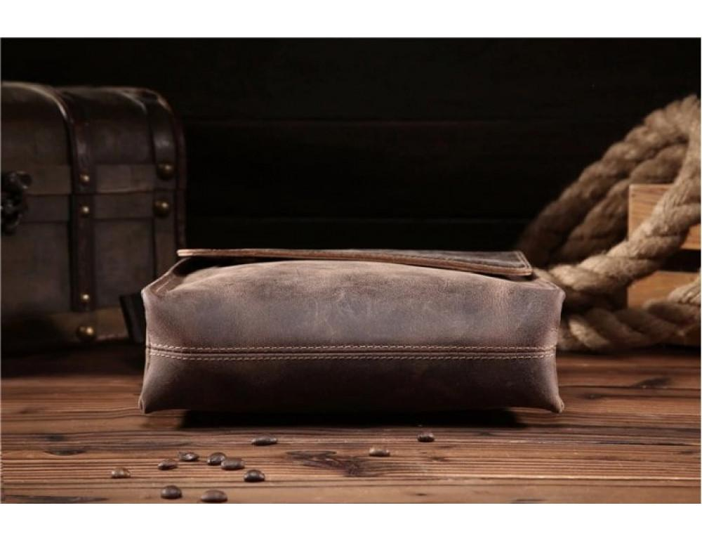 Мужская кожаная сумка на плечо Bexhill bx9382 - Фото № 4
