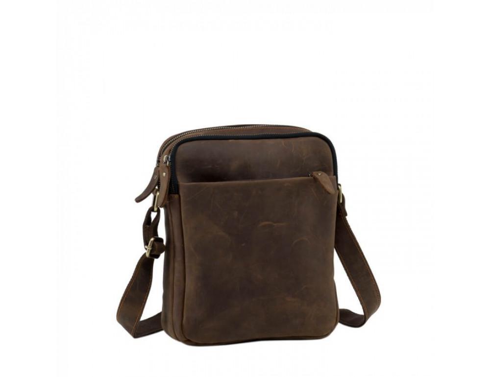 Мессенджер TIDING BAG NM15-2536C коричневый - Фото № 3