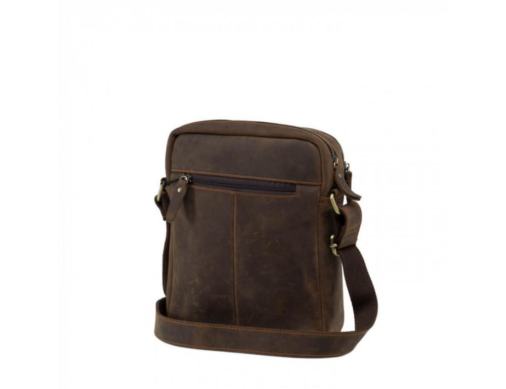 Мессенджер TIDING BAG NM15-2536C коричневый - Фото № 4