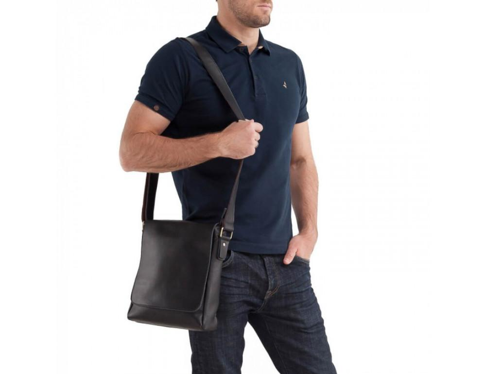 Мессенджер Tiding Bag G1157AN чёрная - Фото № 4