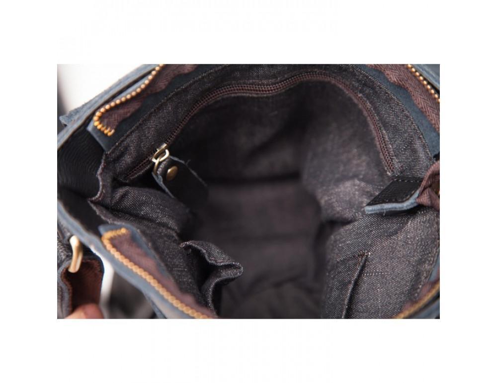 Мессенджер Tiding Bag G1157AN чёрная - Фото № 5