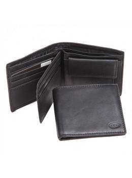 Кожаный портмоне Ruff Ryder RE-00247W черный