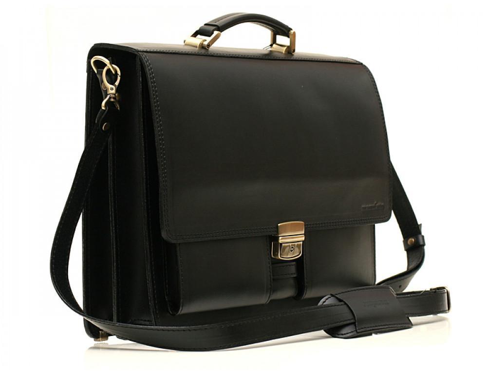 Большой кожаный портфель мужской Manufatto ПАВ-25