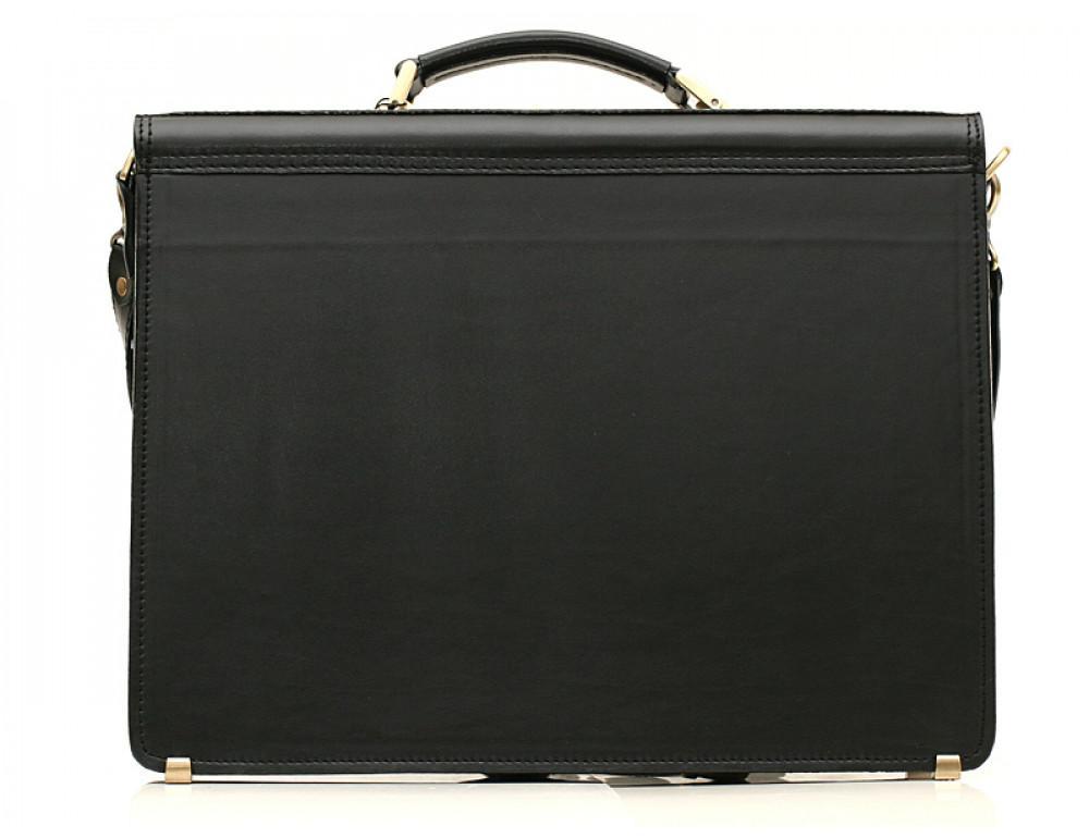 Большой кожаный портфель мужской Manufatto ПАВ-25 - Фото № 2