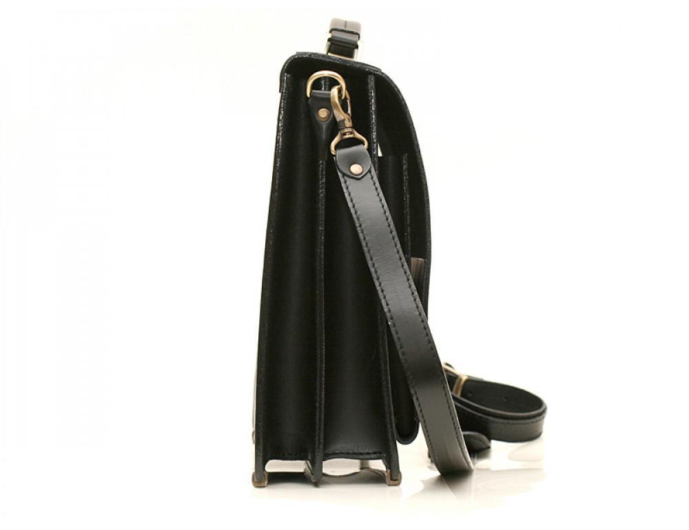Большой кожаный портфель мужской Manufatto ПАВ-25 - Фото № 3