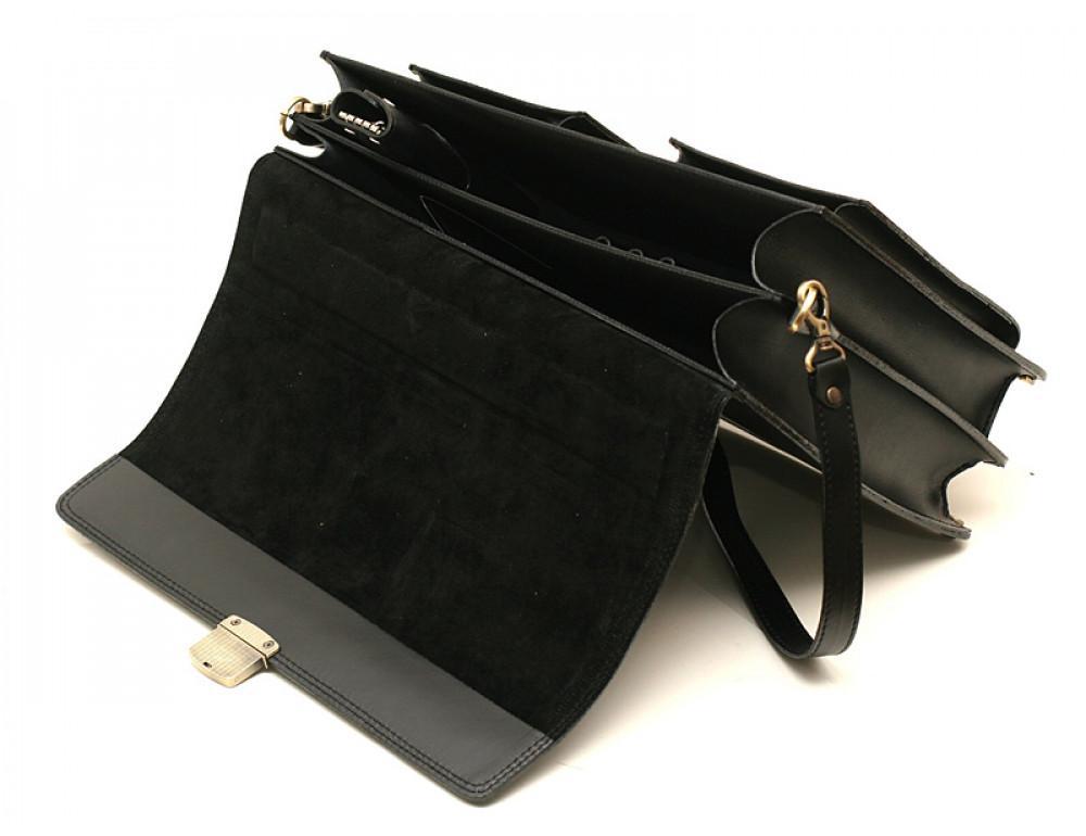 Большой кожаный портфель мужской Manufatto ПАВ-25 - Фото № 4