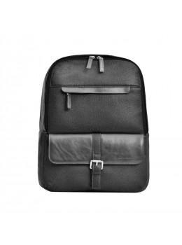 Кожаный рюкзак issahara BP2A чёрный