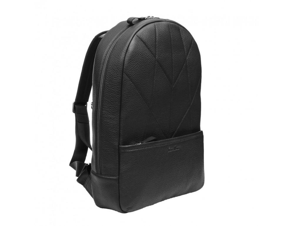 Кожаный рюкзак issahara BP7 (11-00) чёрный - Фото № 3