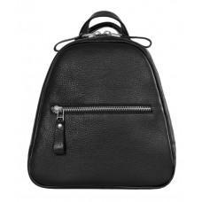 Чорний шкіряний рюкзак Issa Hara BPM3-05 (11-00)