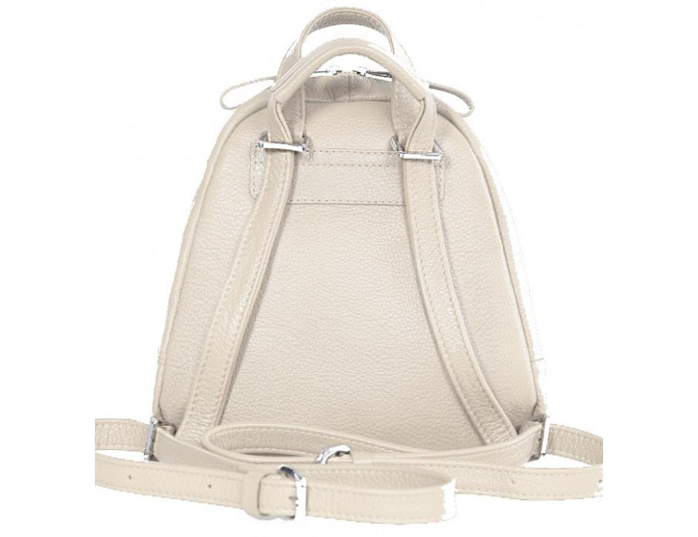 Молочный кожаный рюказ Issa Hara BPM3-05 (17-00) - Фото № 2