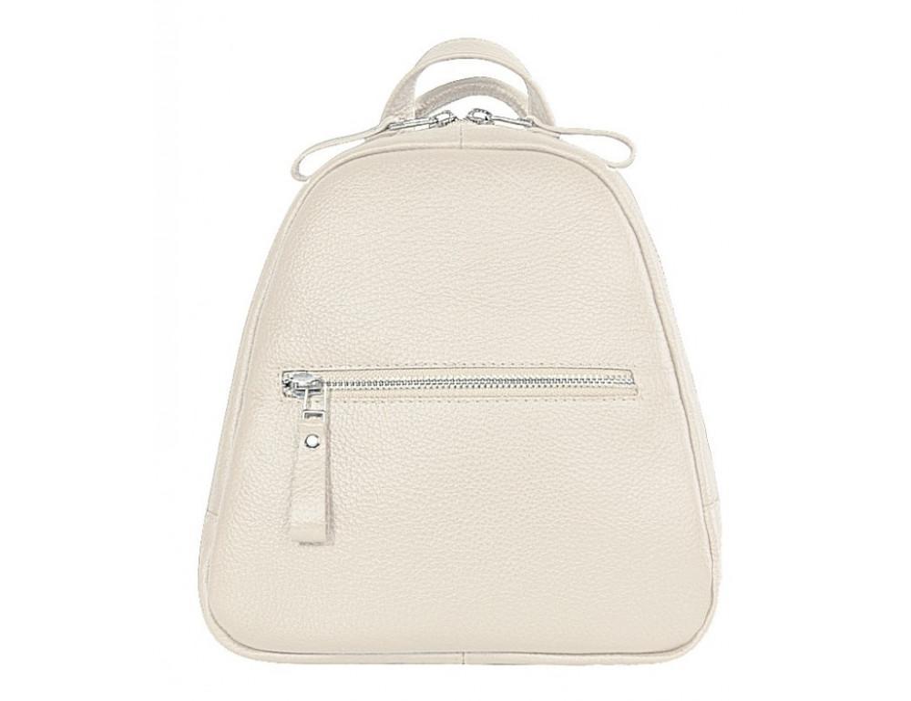 Молочный кожаный рюказ Issa Hara BPM3-05 (17-00) - Фото № 1