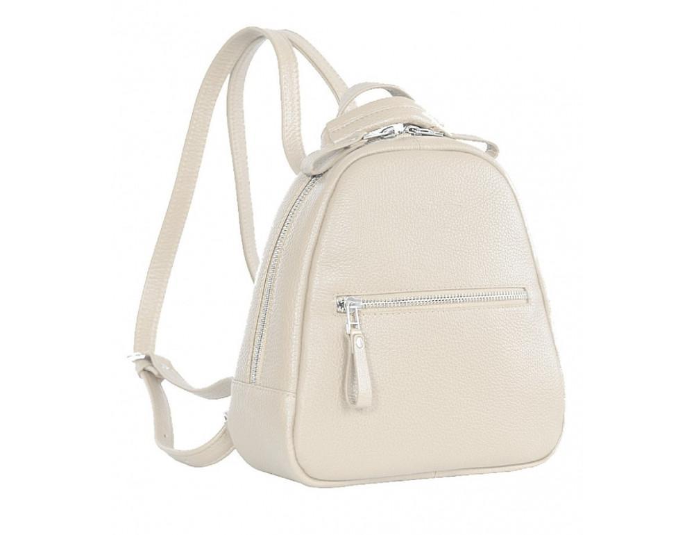 Молочный кожаный рюказ Issa Hara BPM3-05 (17-00) - Фото № 3