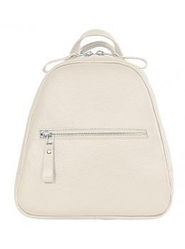 Молочный кожаный рюказ Issa Hara BPM3-05 (17-00)