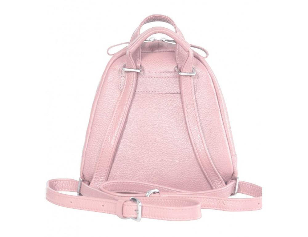 Розовый кожаный рюказ Issa Hara BPM3-05 (45-00) - Фото № 2
