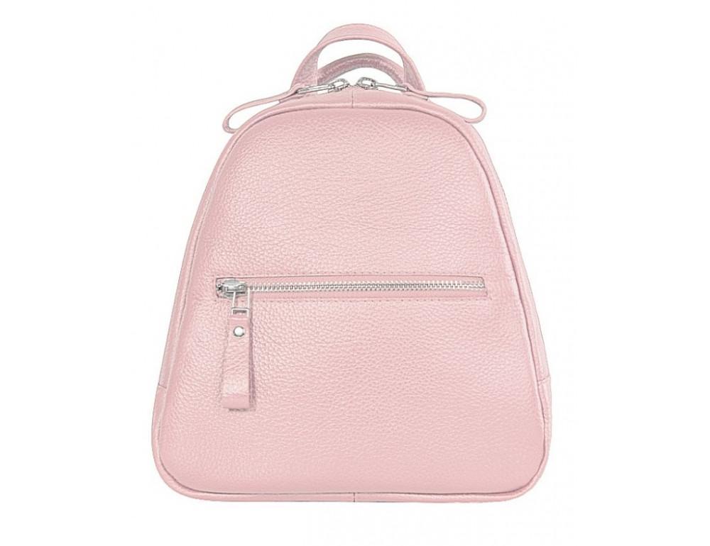 Розовый кожаный рюказ Issa Hara BPM3-05 (45-00) - Фото № 1