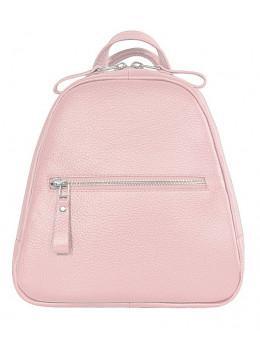Розовый кожаный рюказ Issa Hara BPM3-05 (45-00)