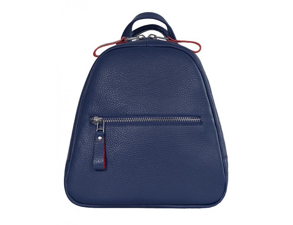 Женский темно-синий рюкзак из кожи Issa Hara BP3-13-15 - Фото № 2