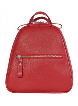 Красный кожаный рюказ Issa Hara BPM3-05 (15-00)