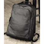 Чёрный кожаный рюкзак большой Bexhill BX-883A - Фото № 100
