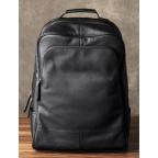 Чёрный кожаный рюкзак большой Bexhill BX-883A - Фото № 103
