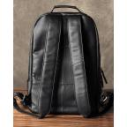 Чёрный кожаный рюкзак большой Bexhill BX-883A - Фото № 109
