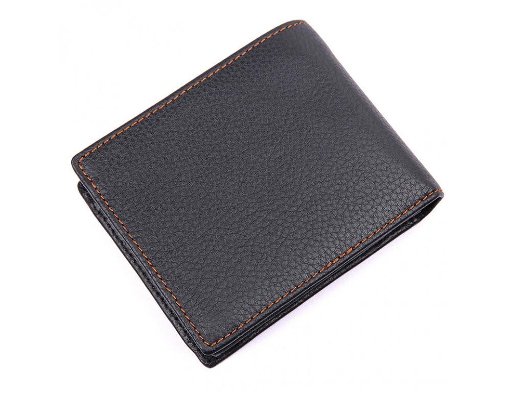 Мужской кожаный кошелёк S.J.D. 8147A-1 - Фото № 2
