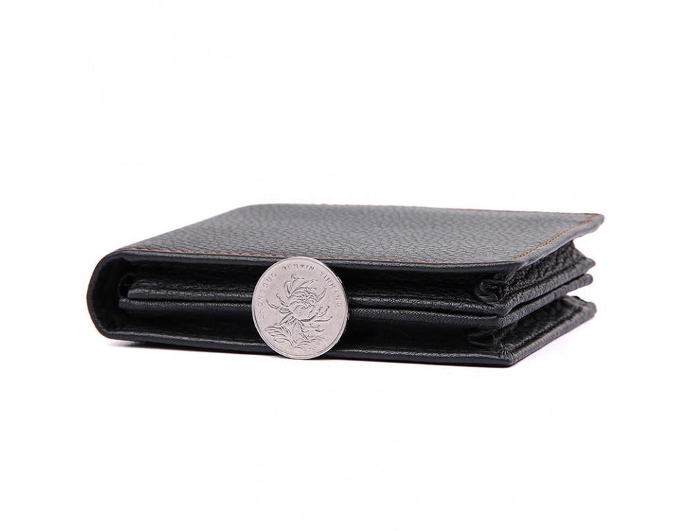 Мужской кожаный кошелёк S.J.D. 8147A-1 - Фото № 3