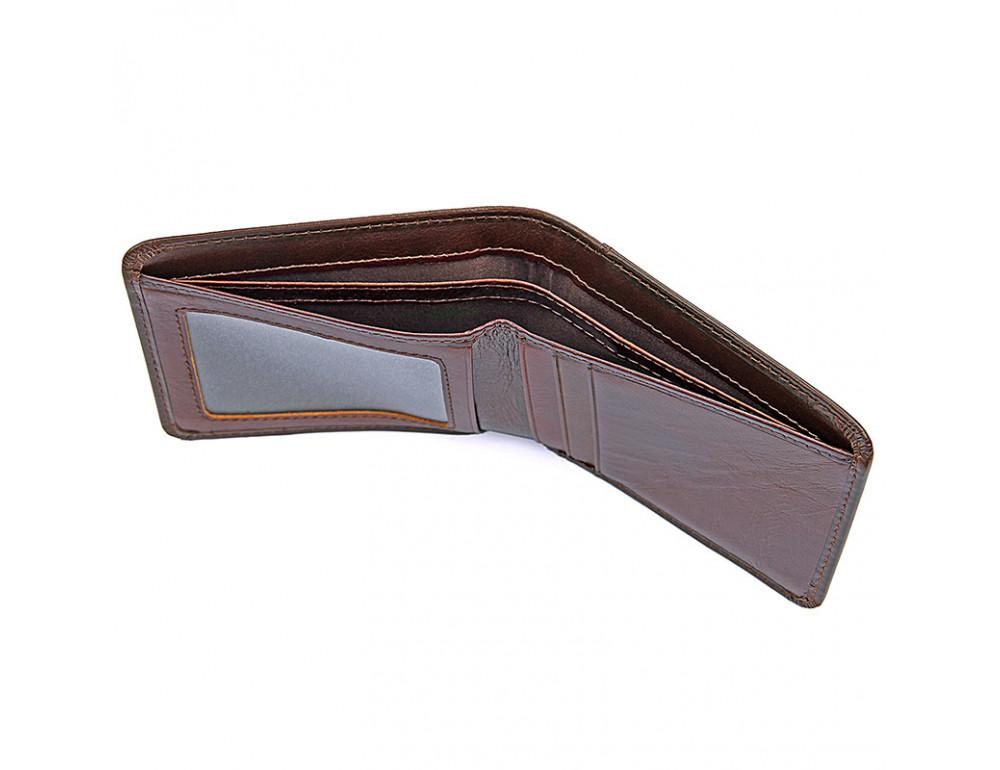 Мужской кожаный кошелёк S.J.D. 8160-3C - Фото № 2
