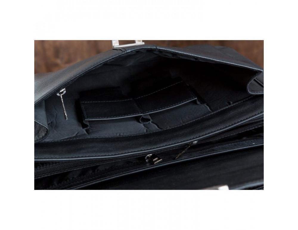 Шкіряний портфель Blamont Bn017A-1 - Фотографія № 9
