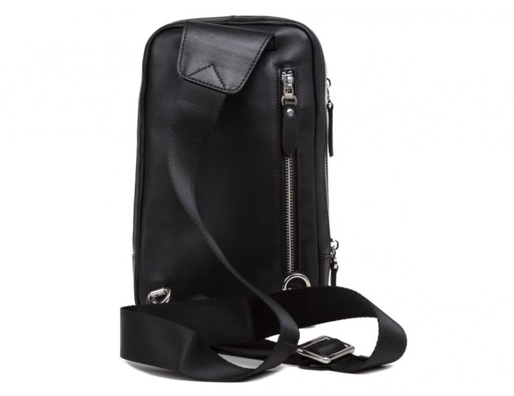 Мужская сумка через плечо TIDING BAG B3-087A черная - Фото № 2