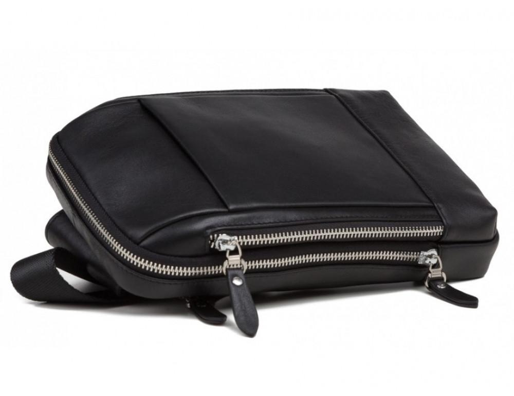 Мужская сумка через плечо TIDING BAG B3-087A черная - Фото № 4