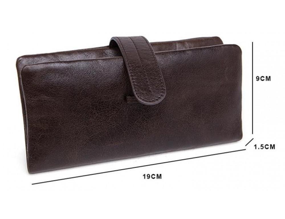 Мужской кожаный портмоне Bexhill BX9202 - Фото № 9