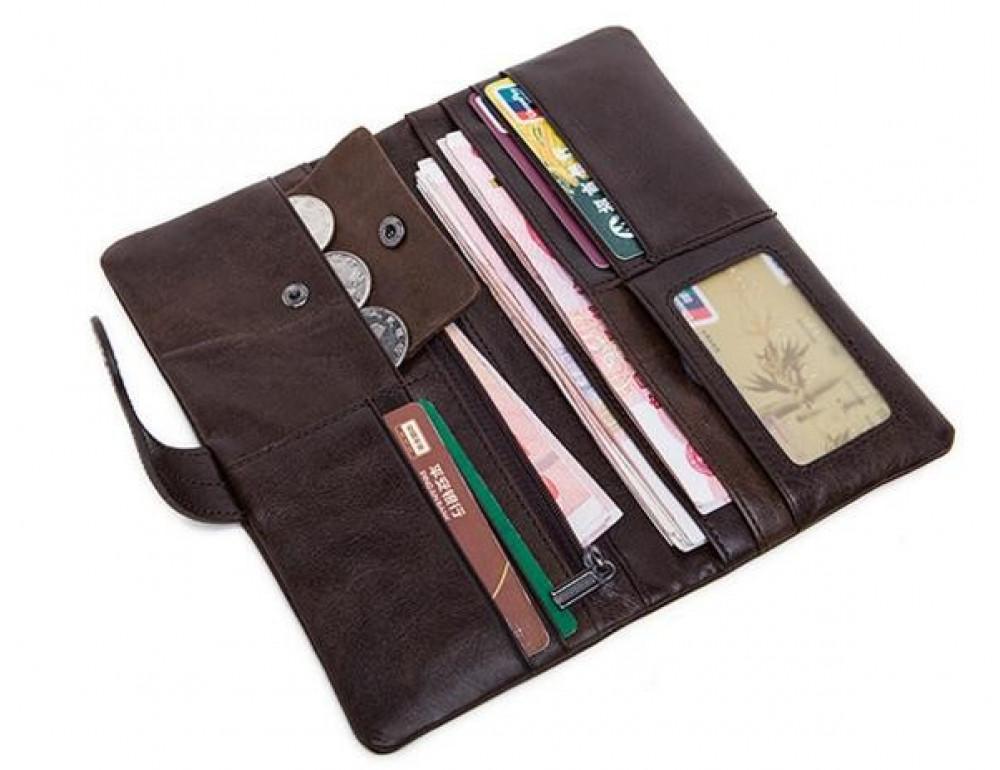 Мужской кожаный портмоне Bexhill BX9202 - Фото № 2