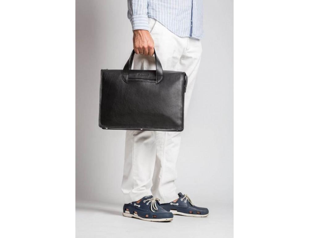 Чоловіча шкіряна сумка Blamont Bn077A - Фотографія № 3