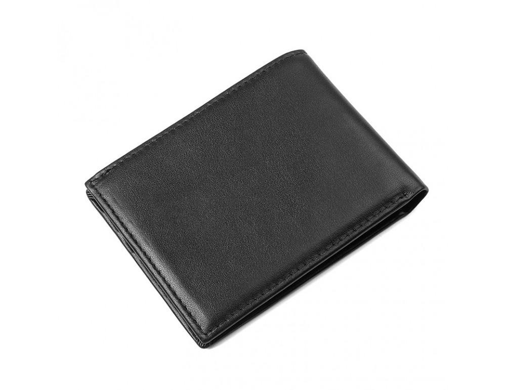 Мужской кожаный кошелёк S.J.D. R-8179A - Фотографія № 2