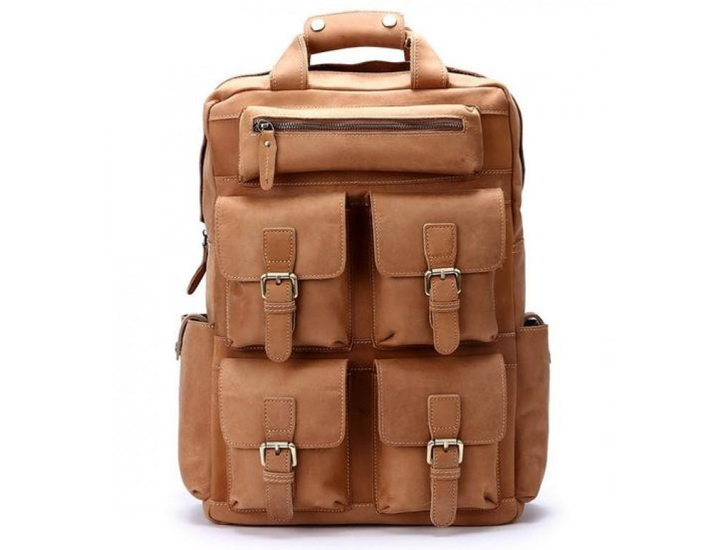 Туристический кожаный рюкзак Bexhill Bx6296C