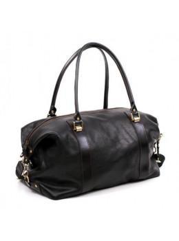Кожаная дорожная сумка Manufatto S-1-black