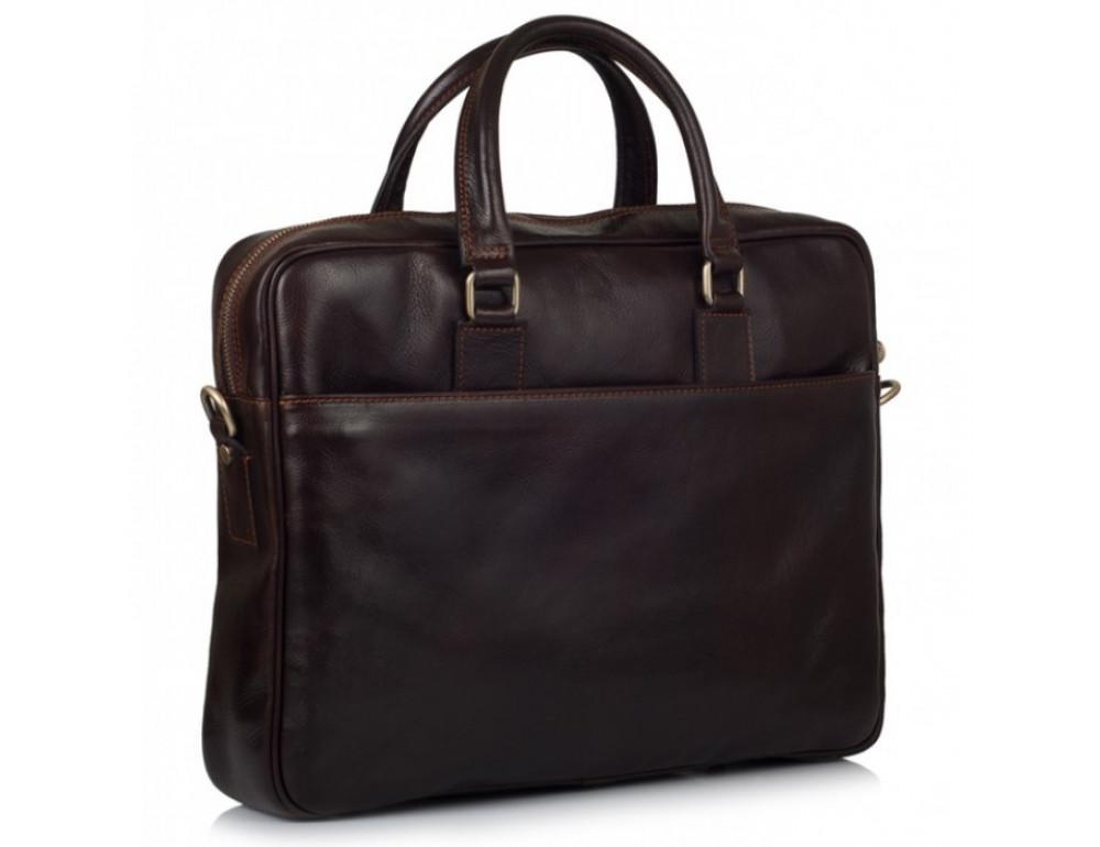 Кожаная сумка Virginia Conti V-01285C коричневая