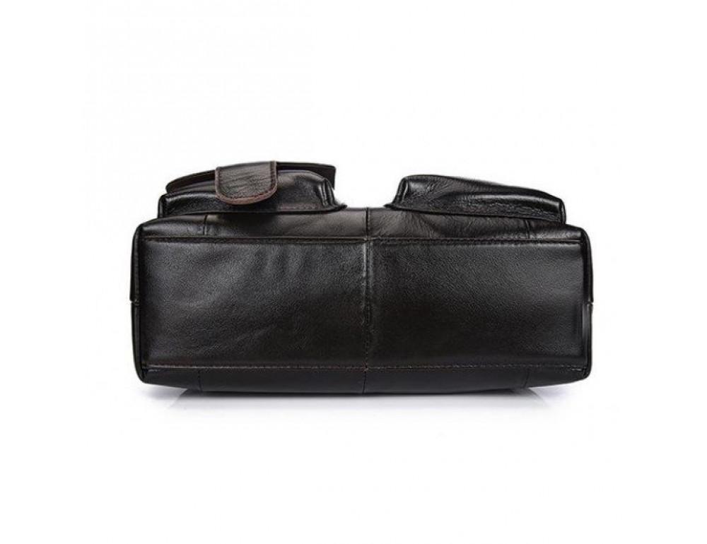 Мужская сумка кожаная через плечо Bexhill L259 - Фото № 5