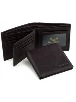 Мужской кожаный кошелёк Ruff Ryder RR-38006WB
