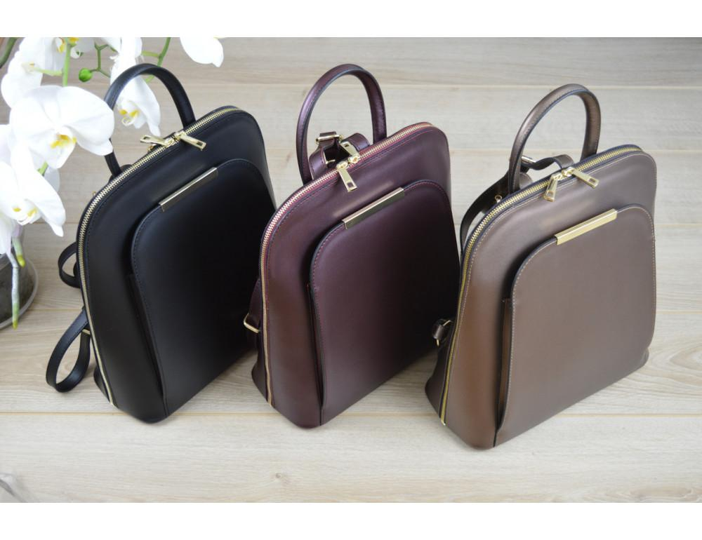 Женская сумка-рюкзак трасформер VirginiaConti V01345A - Фото № 5