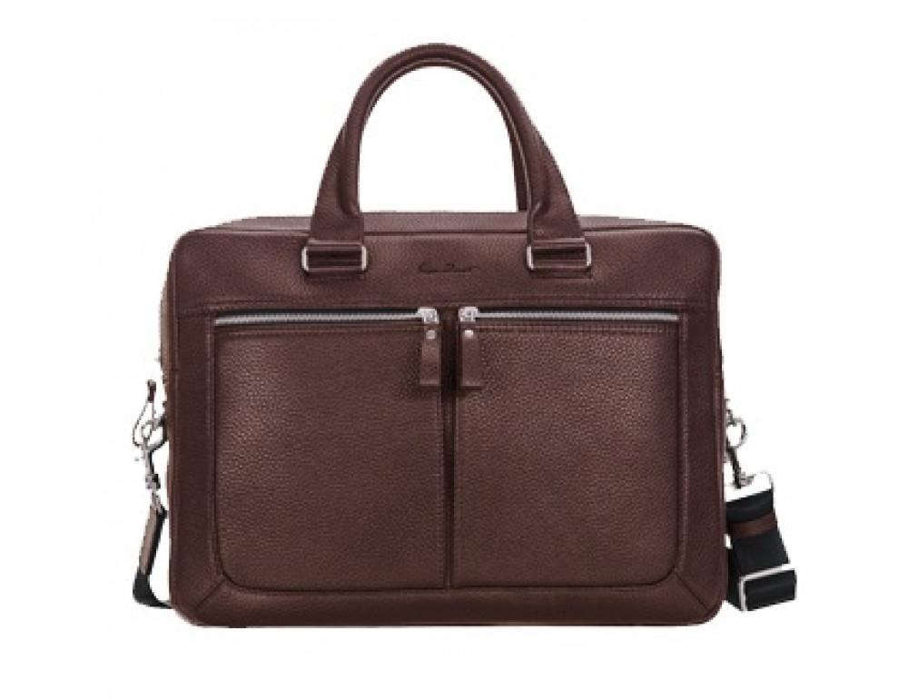 Шкіряна сумка під документи Issa Hara B23-12-00